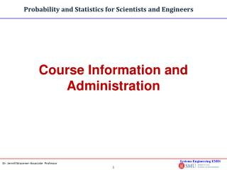 Course Information and Administration