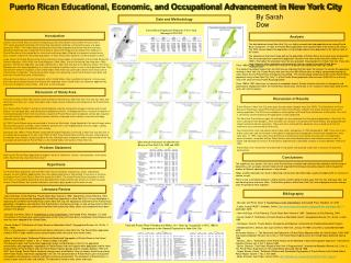 Puerto Rican Educational, Economic, and Occupational Advancement in New York City