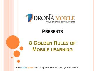8 Golden Rules of Mobile Learning