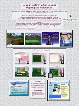 Geology Explorer: Virtual Geologic Mapping and Interpretation