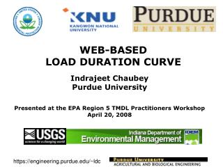 WEB-BASED  LOAD DURATION CURVE