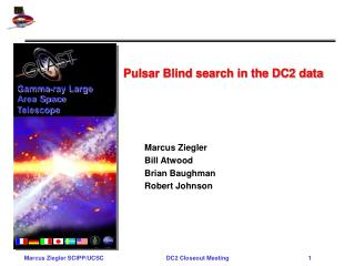 Pulsar Blind search in the DC2 data