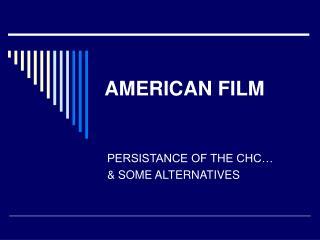 AMERICAN FILM