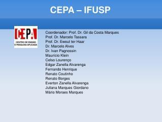 CEPA – IFUSP