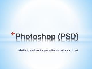 Photoshop (PSD)