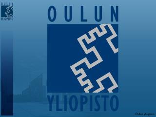 Matemaattisten tieteiden koulutusohjelma Oulun yliopisto