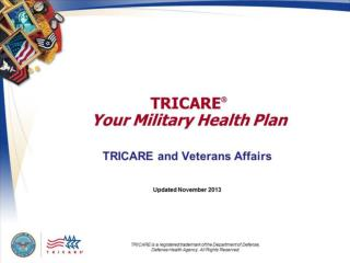 TRICARE  Your Military Health Plan: TRICARE and Veterans Affairs