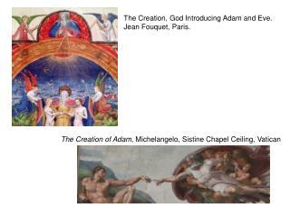 The Creation of Adam , Michelangelo, Sistine Chapel Ceiling, Vatican