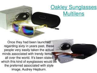 Oakley Sunglasses Multilens
