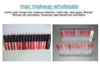 online sale cheap mac makeup collection