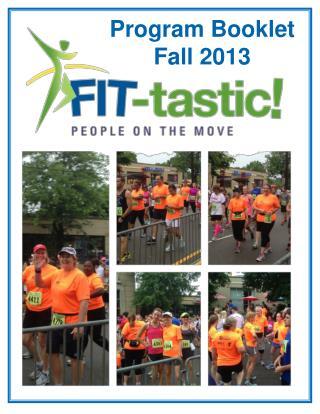 Program Booklet Fall 2013