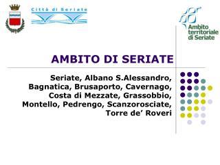 AMBITO DI SERIATE