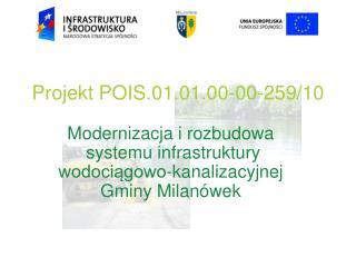 Projekt POIS.01.01.00-00-259/10