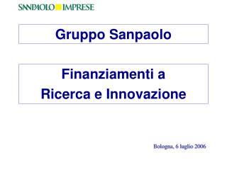 Finanziamenti a  Ricerca e Innovazione