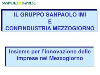 Insieme per l'innovazione delle imprese nel Mezzogiorno