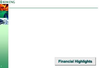 Financial Highlights