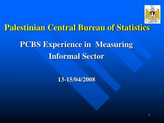 Palestinian Central Bureau of Statistics