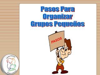 Pasos Para Organizar Grupos Pequeños