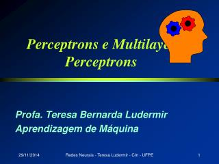 Perceptrons e Multilayer Perceptrons