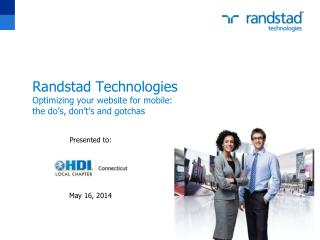 Randstad Technologies Optimizing your website for mobile: the do's, don't's and gotchas