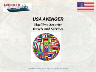 Maritime Security Vessels and Services