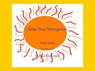 Solar Tour Montpelier
