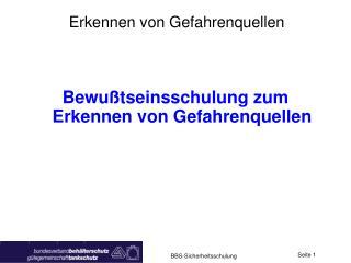 BBS-Sicherheitsschulung