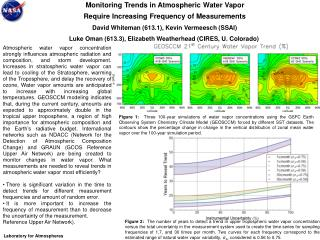 Monitoring Trends in Atmospheric Water Vapor Require Increasing Frequency of Measurements
