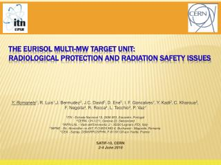 The EURISOL Multi-MW Target Unit: Radiological protection and radiation safety issues