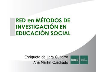 Enriqueta de Lara Guijarro Ana Martín Cuadrado