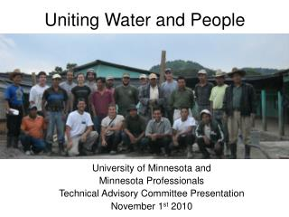 Uniting Water and People