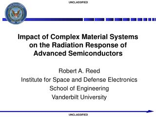 Impact of Complex Material Systems on the Radiation Response of Advanced Semiconductors