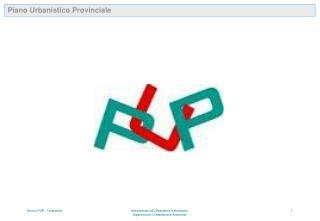 Piano Urbanistico Provinciale