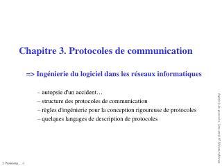 Chapitre 3. Protocoles de communication