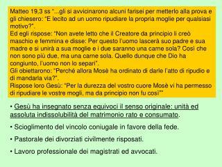 Effesini 5, [21]Siate sottomessi gli uni agli altri nel timore di Cristo.