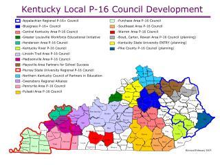 Kentucky Local P-16 Council Development