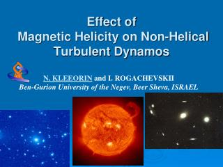 Effect of   Magnetic Helicity on Non-Helical  Turbulent Dynamos
