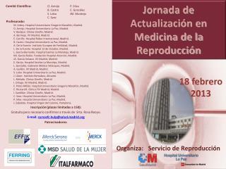 Jornada de Actualización en Medicina de la Reproducción