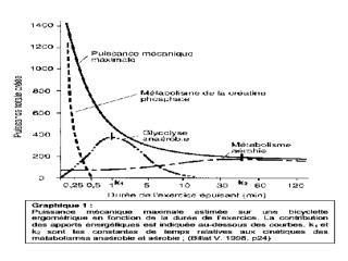 Les seuils : anaérobie, lactique et  ventilatoire