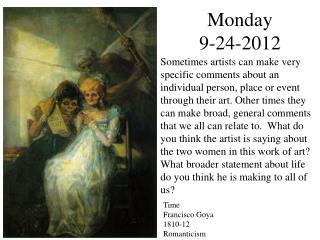 Monday  9-24-2012