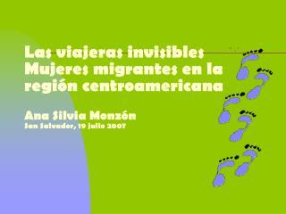 �por qu� una mirada de g�nero a las migraciones?