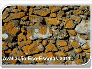 Avaliação Eco-Escolas  2011