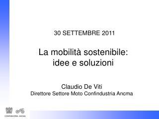 30  SETTEMBRE 2011