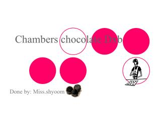 Chambers chocolate Dxb