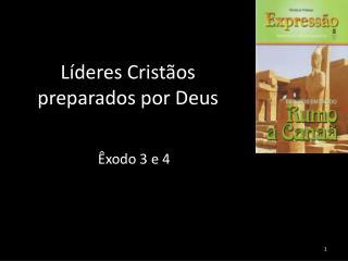 Líderes Cristãos  preparados por Deus