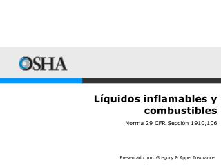 L�quidos inflamables y  combustibles