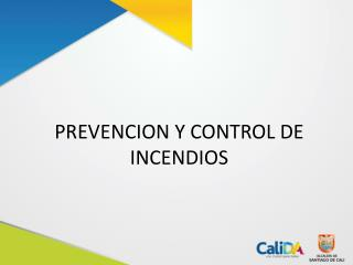 PREVENCION Y CONTROL DE INCENDIOS