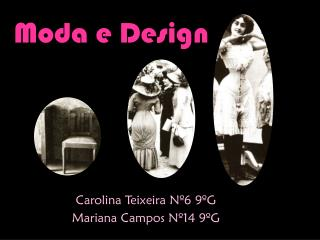 Moda e Design