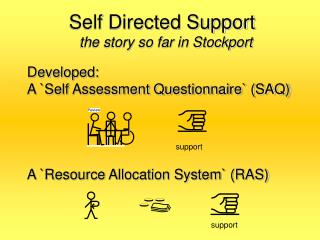 Self Directed Support the story so far in Stockport