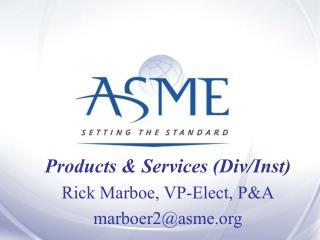 Products  Services Div